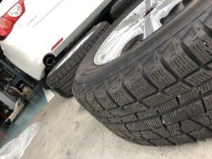 持ち込みタイヤ交換 タイヤ保管