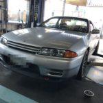 持ち込みタイヤ交換 R32 GT-R