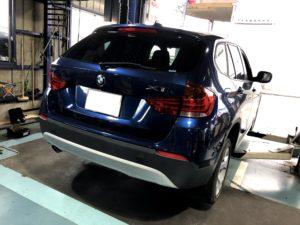 BMW X1 持ち込み タイヤ交換