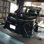 トヨタ VOXY 持ち込み タイヤ交換