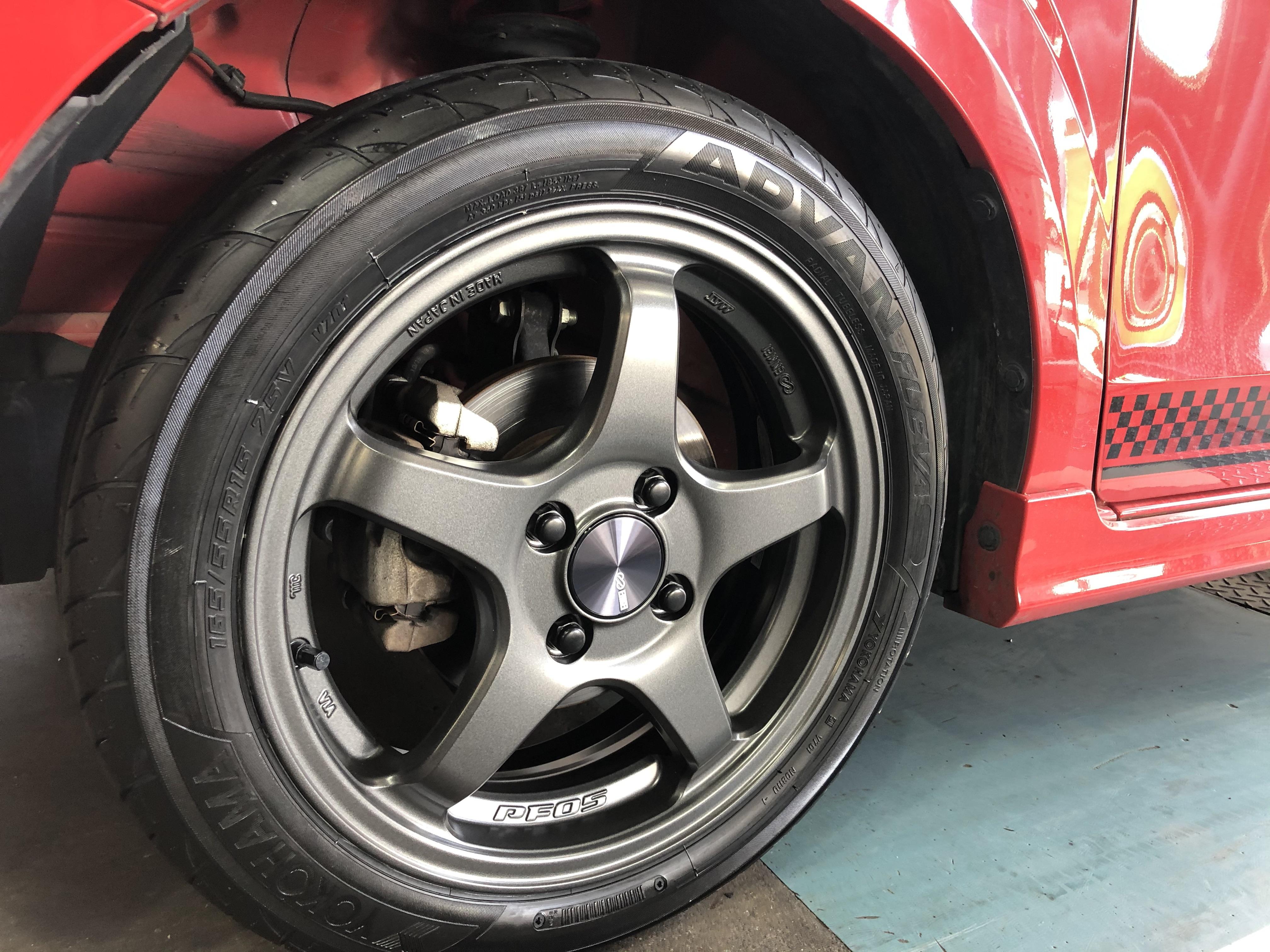 持ち込みタイヤ交換とタイヤ保管