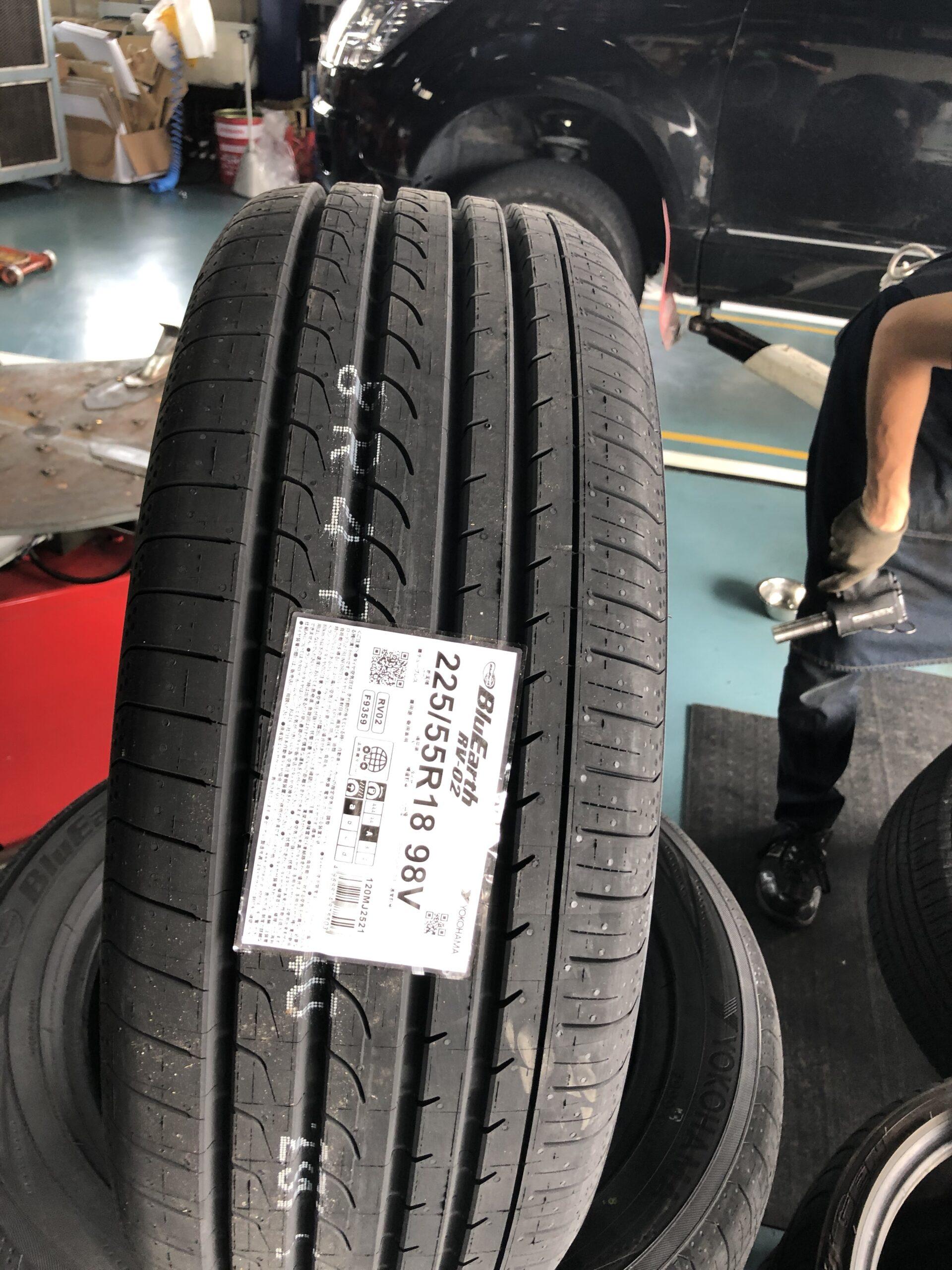 デリカD5 タイヤ交換